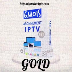 Abonnement Gold Iptv – 6 Mois