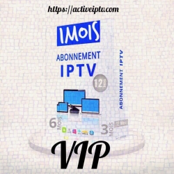 Abonnement VIP Iptv – 1 Mois